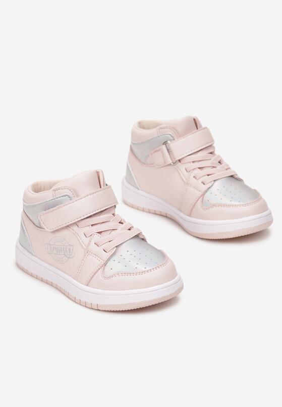 Różowe Buty Sportowe Psalalise