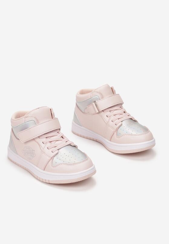 Różowe Buty Sportowe Thronone