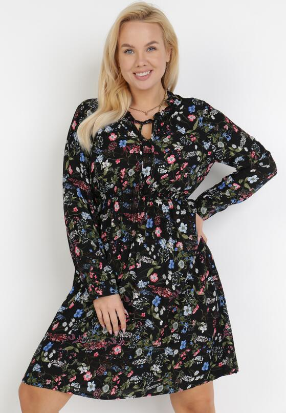 Czarna Sukienka Nesephine