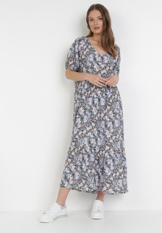Niebieska Sukienka Pherali