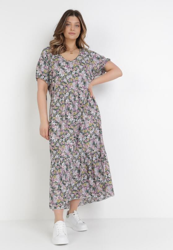 Fioletowa Sukienka Pherali