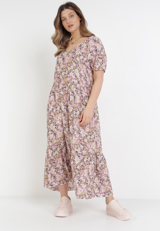 Różowa Sukienka Pherali