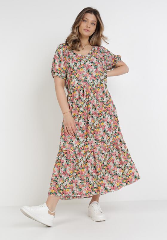 Ciemnoróżowa Sukienka Pherali