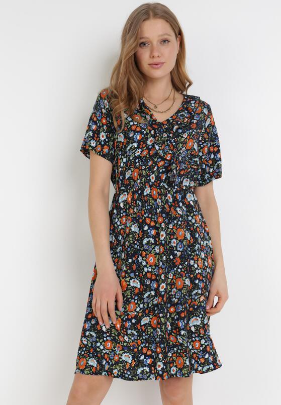 Granatowa Sukienka Ethemelsa