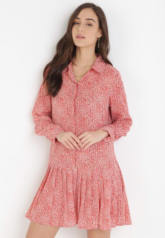 Łososiowa Sukienka Nonarecea