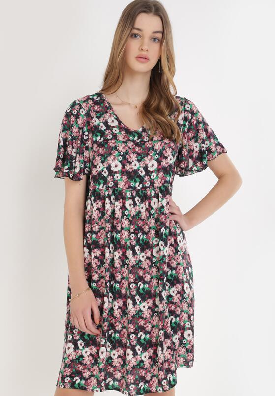 Ciemnoróżowa Sukienka Doryria