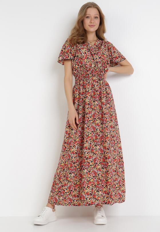 Czerwona Sukienka Amynei
