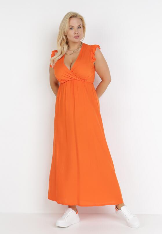 Pomarańczowa Sukienka Calyphone