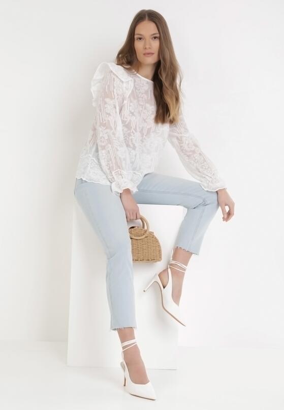 Biała Bluzka Myrithice