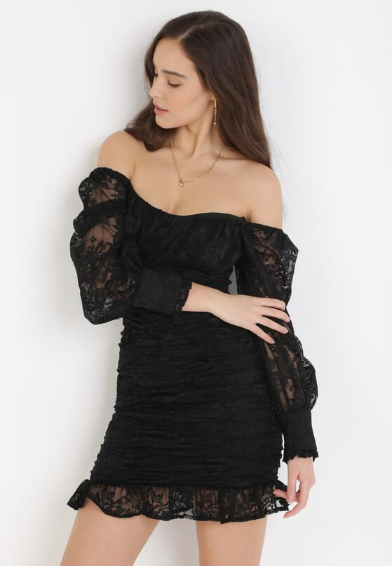 Czarna Sukienka Saphone