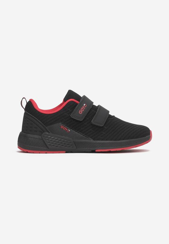 Czarno-Czerwone Buty Sportowe Delolyn