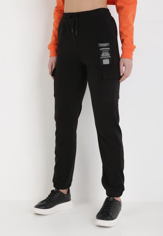 Czarne Spodnie Dresowe Baethany