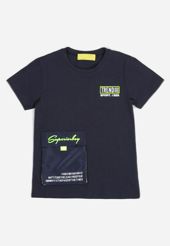 Granatowa Koszulka Cheneguna