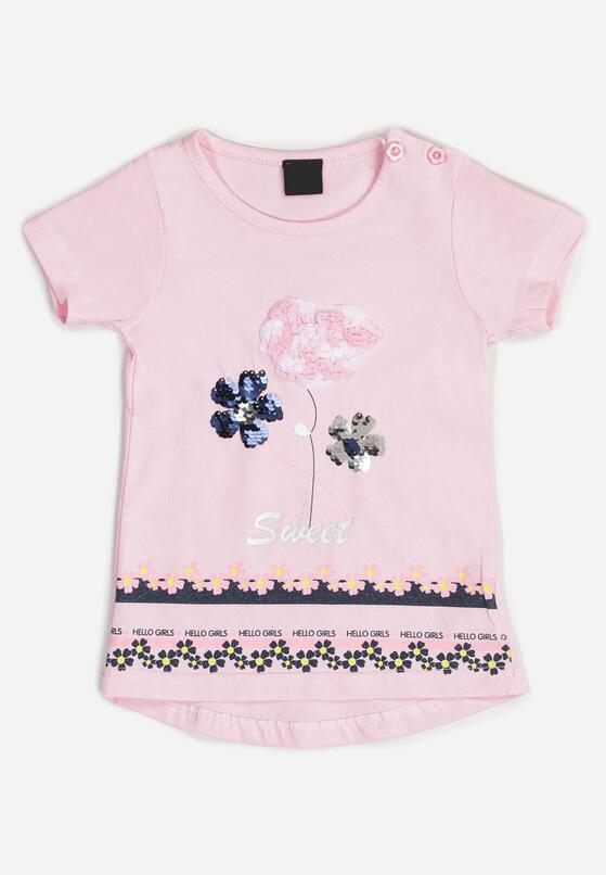 Różowa Koszulka Haerlo