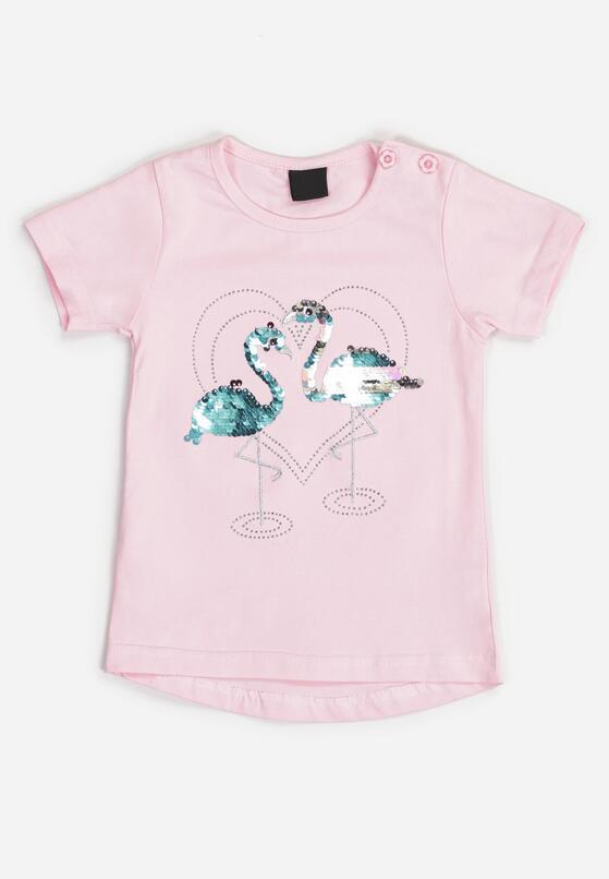 Różowa Koszulka Adrialei