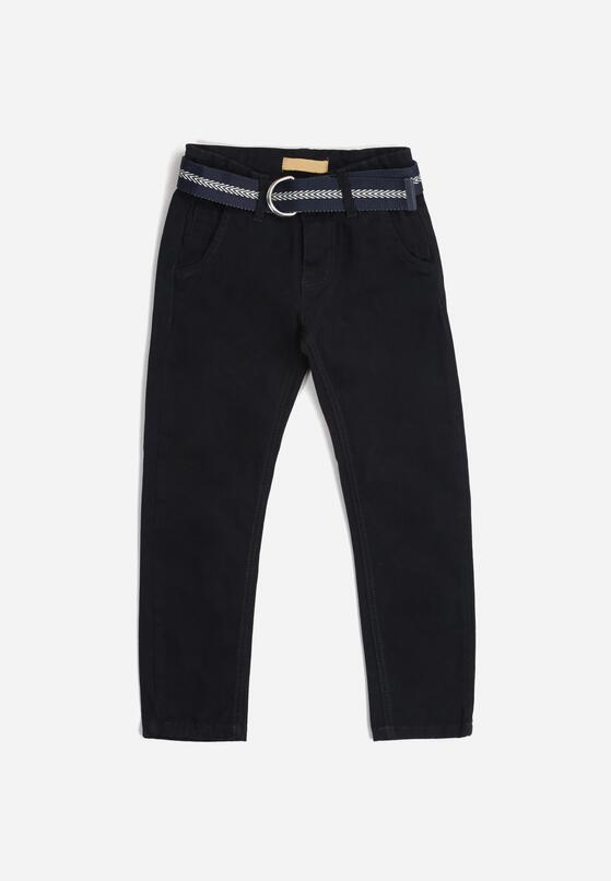 Granatowe Spodnie Cassana