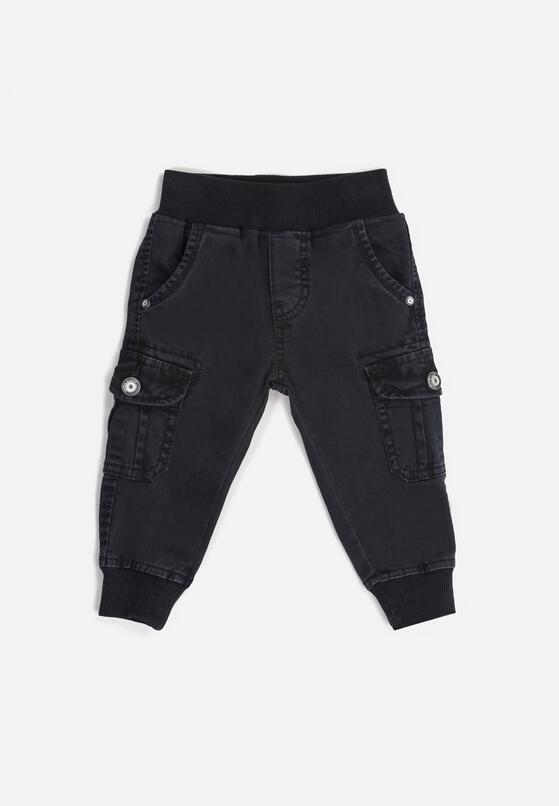 Granatowe Spodnie Arelle