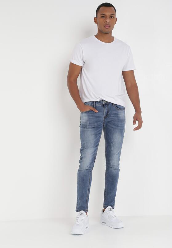 Niebieskie Jeansy Regular Symania