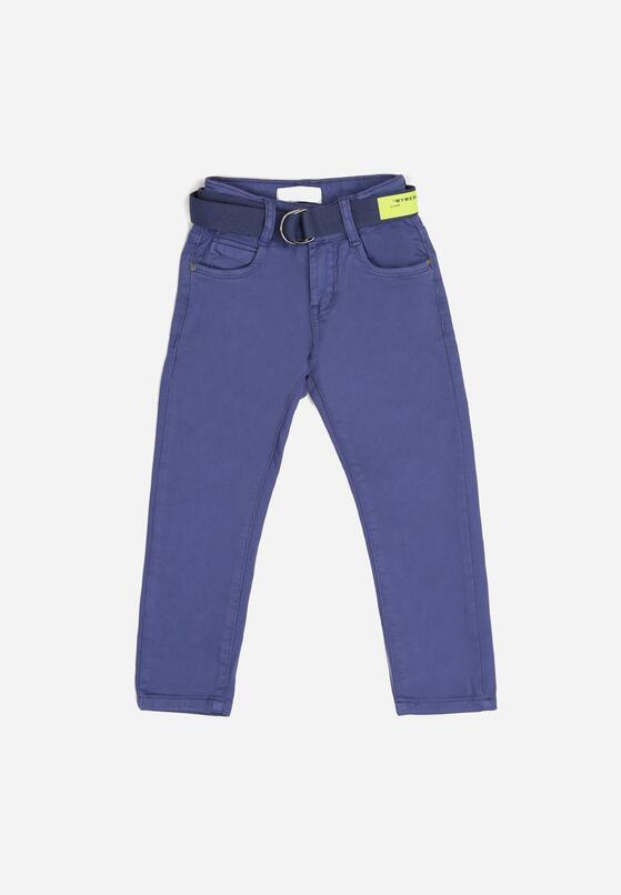 Ciemnoniebieskie Spodnie Breaenna