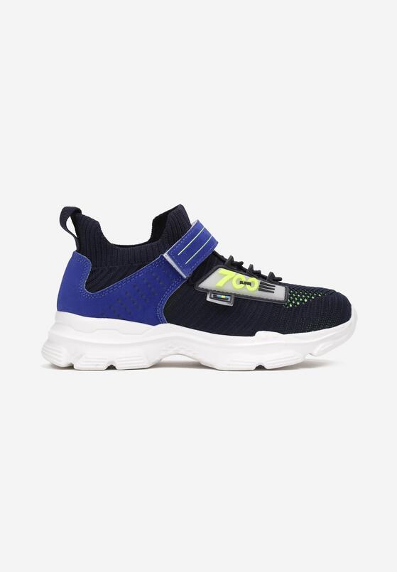 Niebiesko-Zielone Buty Sportowe Lyeecia