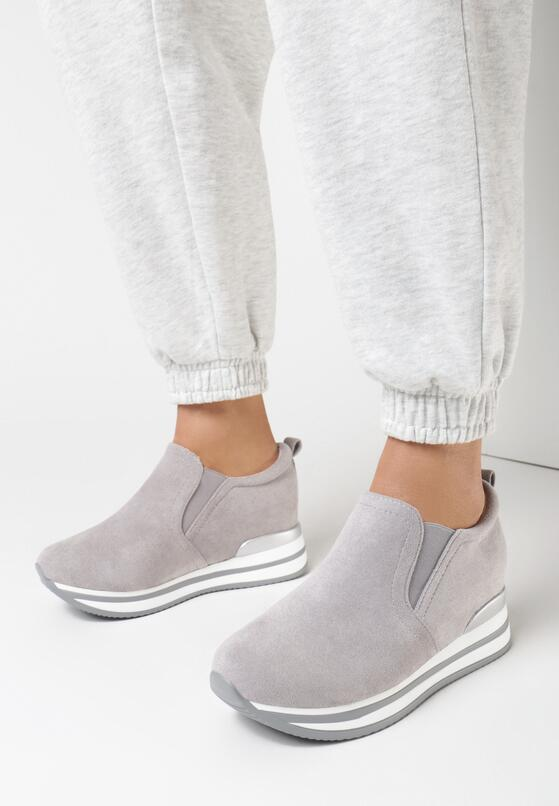 Szare Sneakersy Kahlidoe