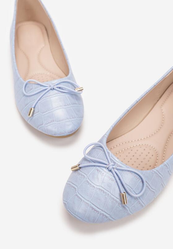 Niebieskie Balerinki Thimo