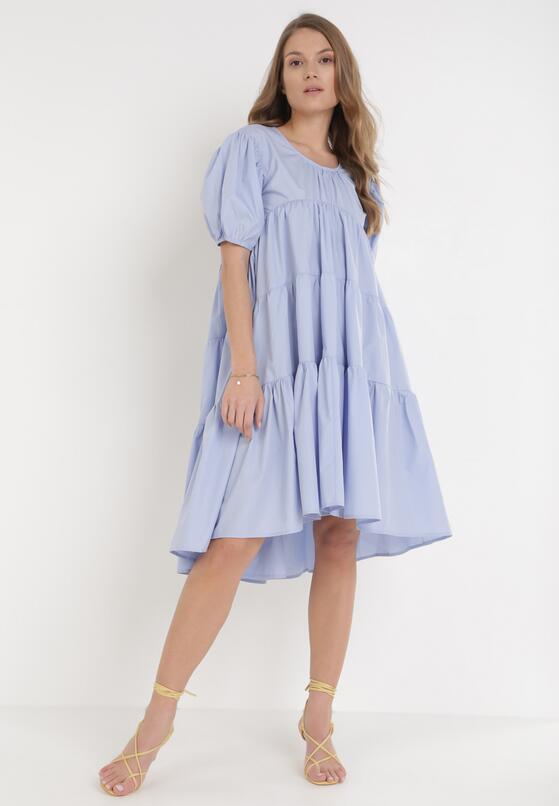 Niebieska Sukienka Zhadah