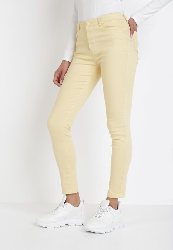 Jasnożółte Spodnie Dorieshell