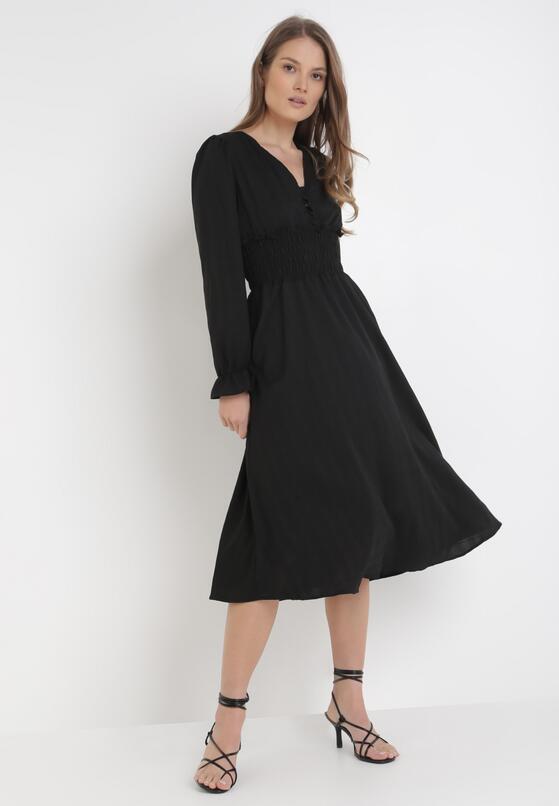 Czarna Sukienka Kelkian