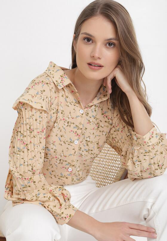 Jasnobeżowa Koszula Eldithas