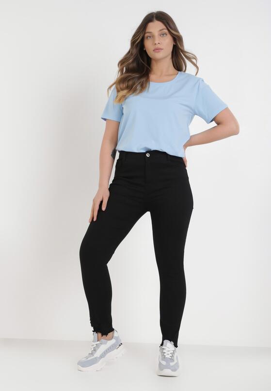 Czarne Spodnie Skinny Genimere