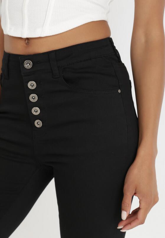 Czarne Spodnie Skinny Kyllienne