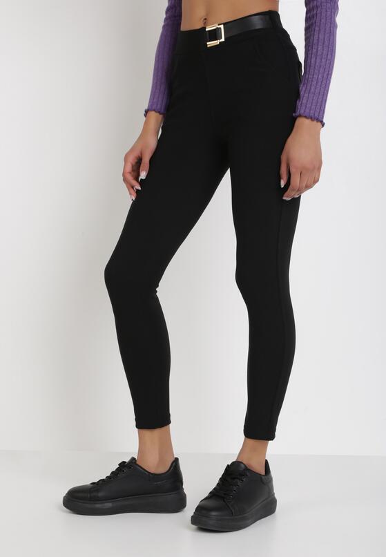 Czarne Spodnie Skinny Dardariel