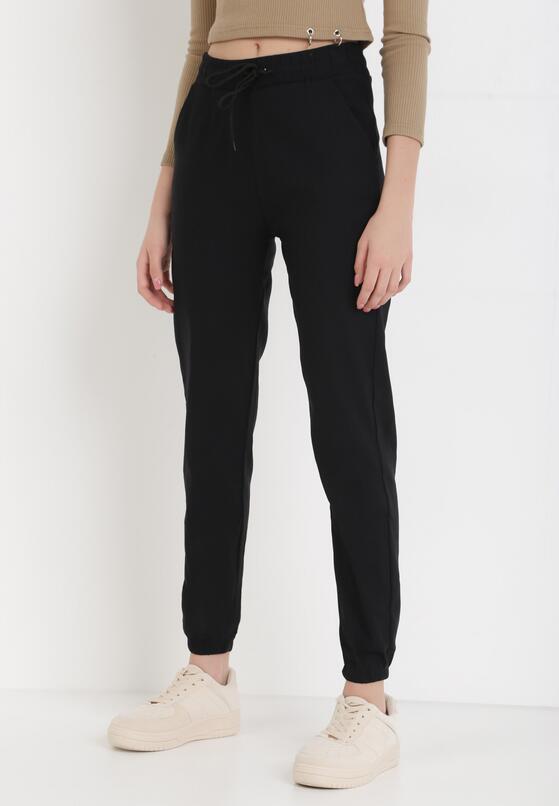 Czarne Spodnie Puriel