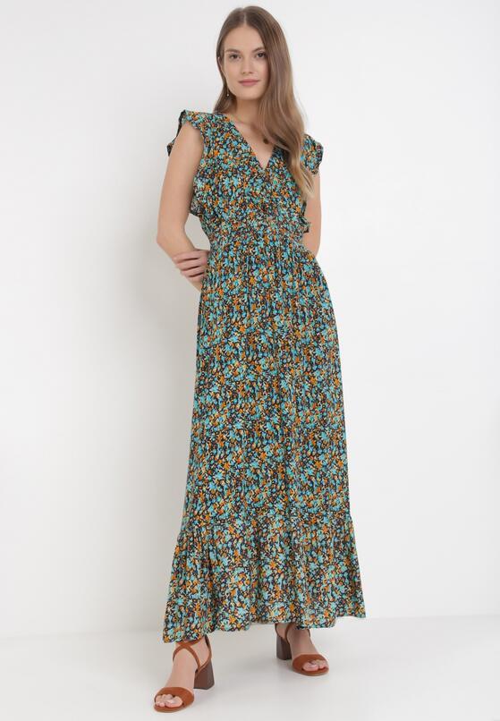 Granatowa Sukienka Alona