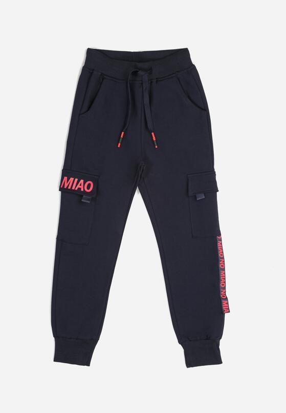 Granatowe Spodnie Himerianne