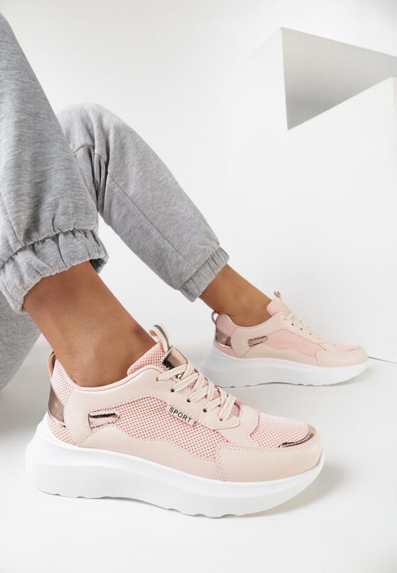 Różowe Sneakersy Shevien
