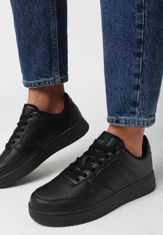 Czarne Buty Sportowe Adriney