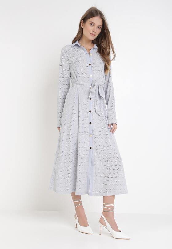 Jasnoniebieska Sukienka Aqiarial