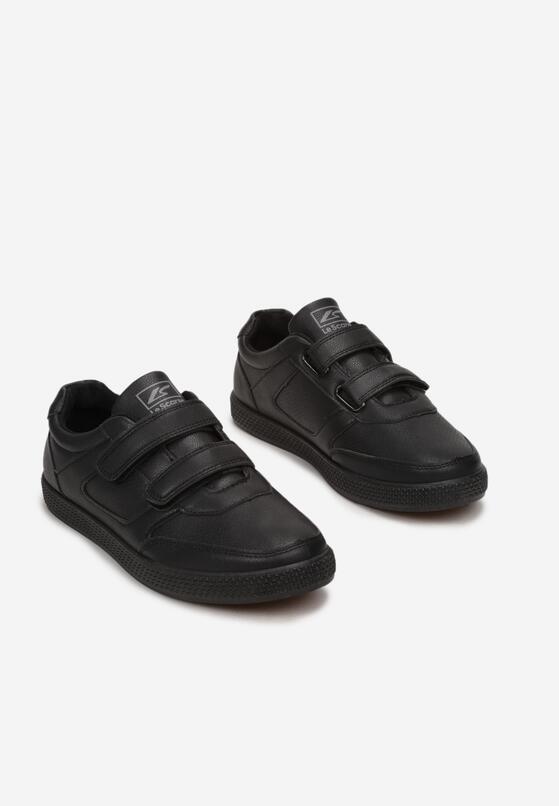 Czarne Buty Sportowe Leupe