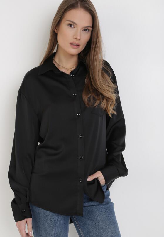 Czarna Koszula Echosa