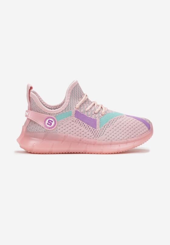 Różowe Buty Sportowe Aglaodeia