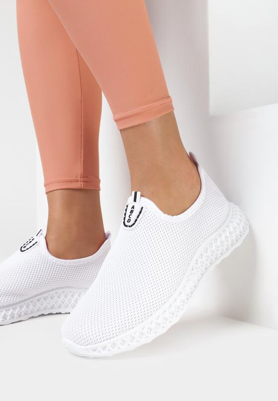 Białe Buty Sportowe Thelrahne