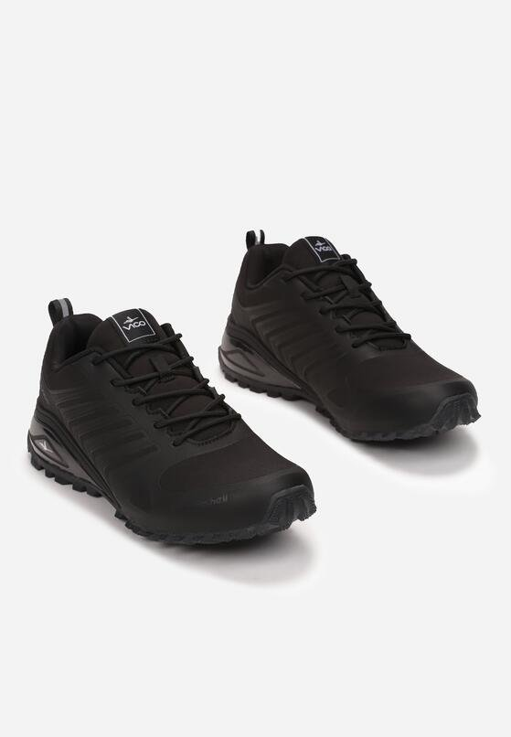 Czarne Buty Sportowe Yava