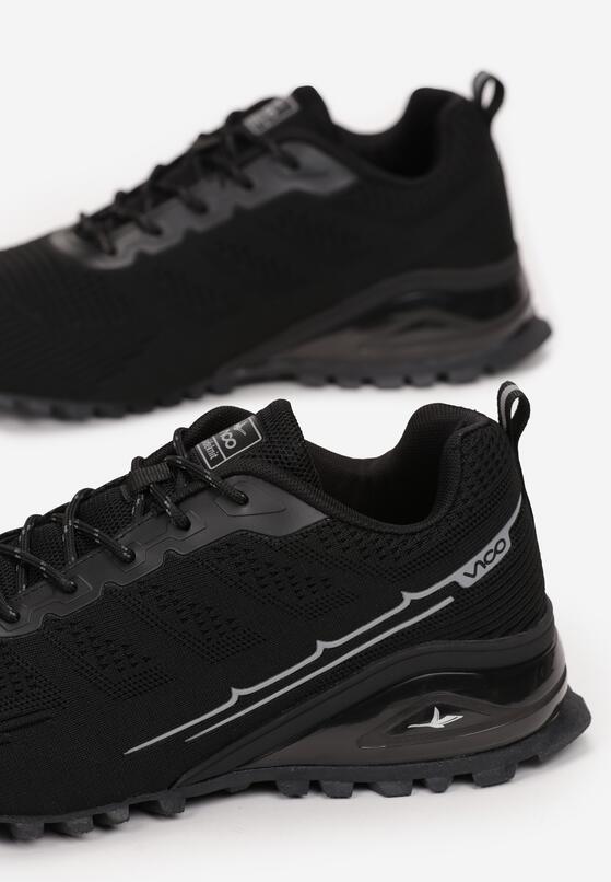 Czarne Buty Sportowe Corinara
