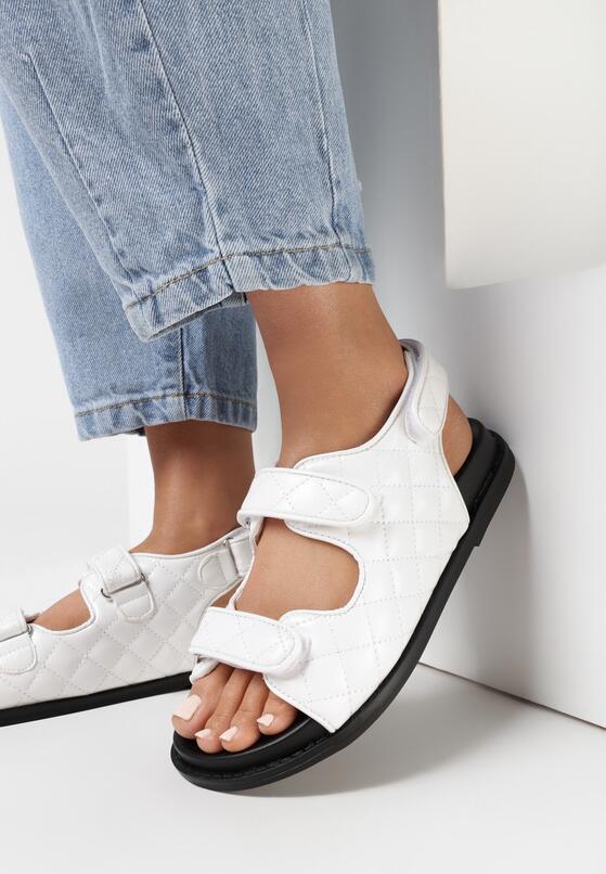 Białe Sandały Elrinova