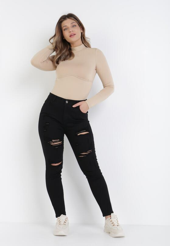 Czarne Spodnie Skinny Urillisa