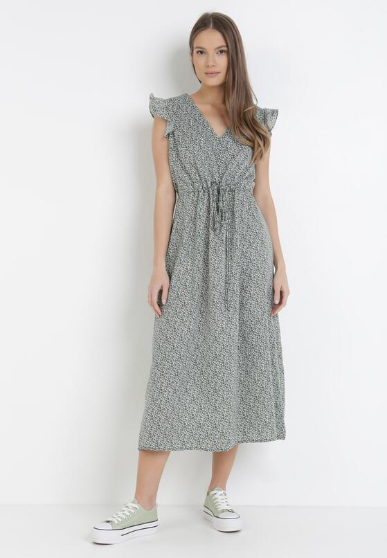 Zielona Sukienka Murielis