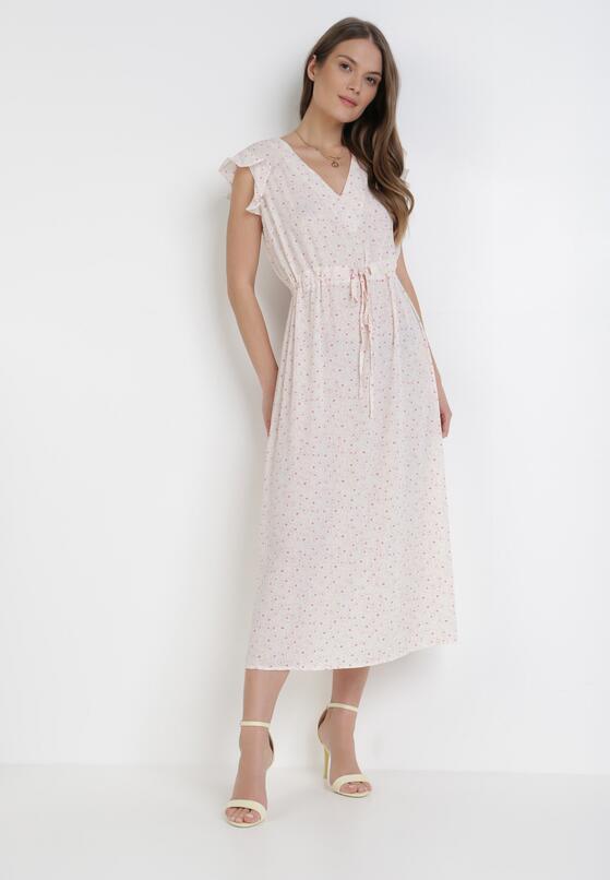 Kremowa Sukienka Adreamara