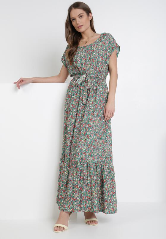 Zielona Sukienka Alcimoni